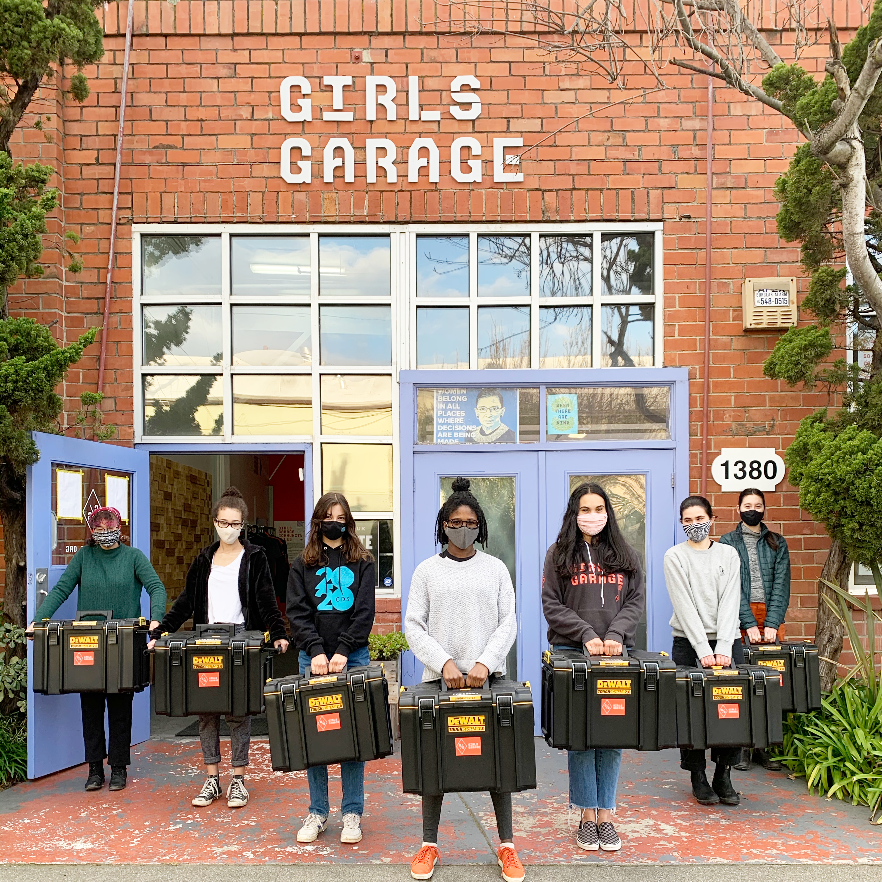 Girls Garage Toolboxes